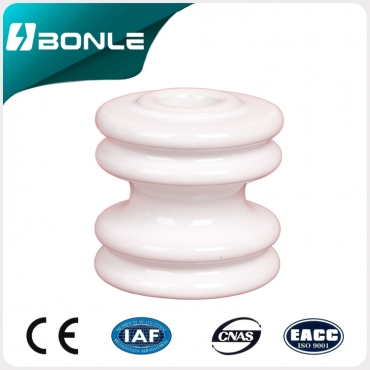 Spool insulator 53-4 white