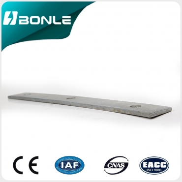 Factory supply hot dip galvanized flat steel BONLE