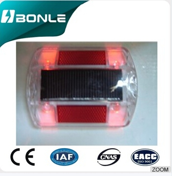 Samples Are Available Low Cost Customized Logo Printed Reflective Plastic Road Studs BONLE