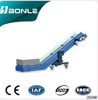belt conveyor for various machines