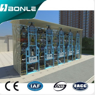 Multi-Floor Circulating Type Automatic Parking System Parking Lift BONLE