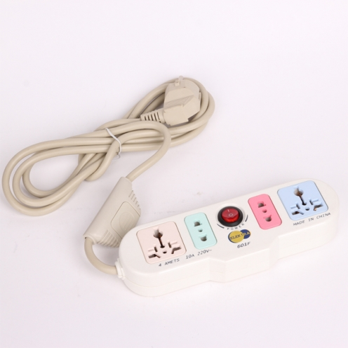 4 Way Multifunction Extension socket with switch BONLE
