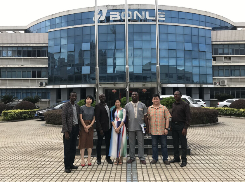 Warmly Welcome Customers From Ethiopia to visit BONLE